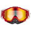 100% Racecraft Goggle fire red / mirror
